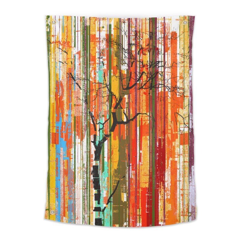 Fusion Autumn (Vertical Version) Home Tapestry by bulo