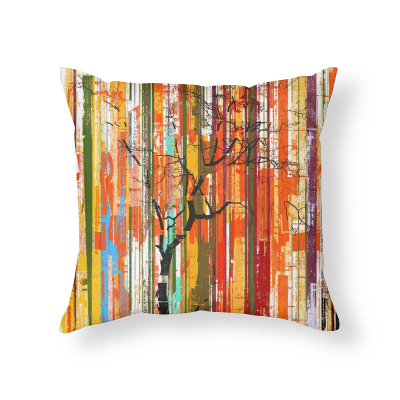 Fusion Autumn (Vertical Version) Home Throw Pillow by bulo