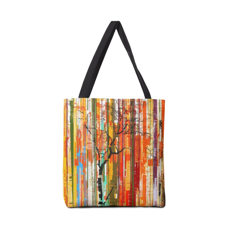 Fusion Autumn (Vertical Version) Accessories Bag by bulo