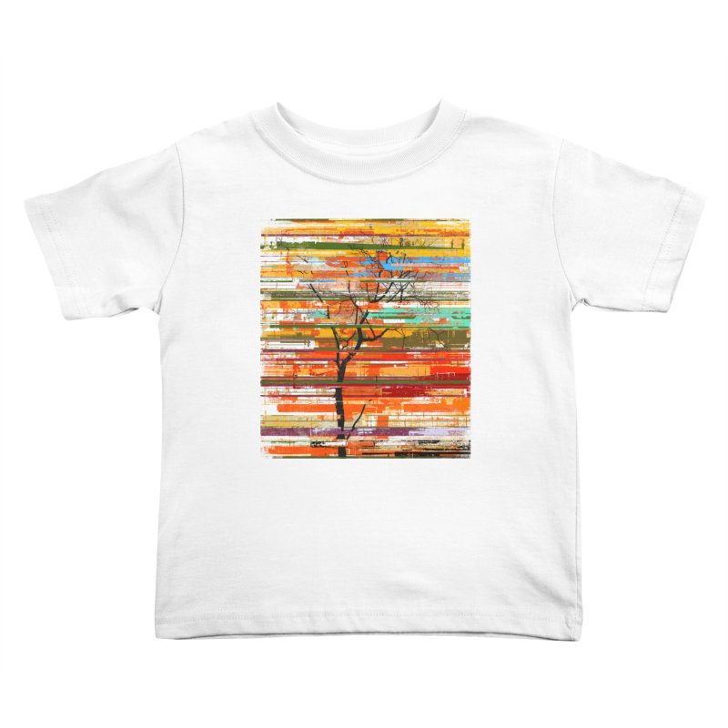 Fusion Autumn Kids Toddler T-Shirt by bulo