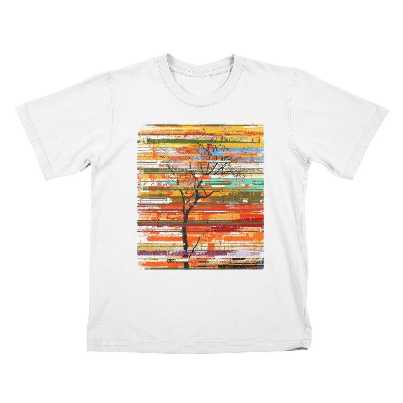 Fusion Autumn Kids T-Shirt by bulo