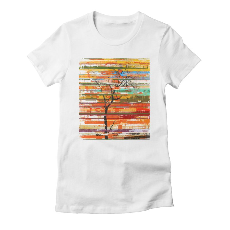 Fusion Autumn Women's Fitted T-Shirt by bulo
