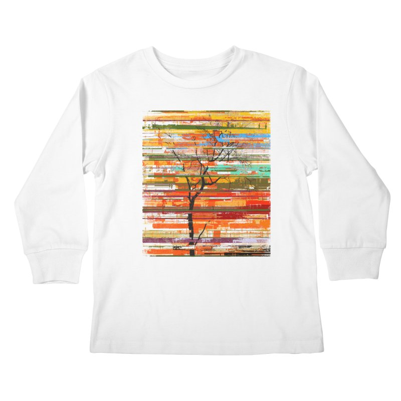Fusion Autumn Kids Longsleeve T-Shirt by bulo
