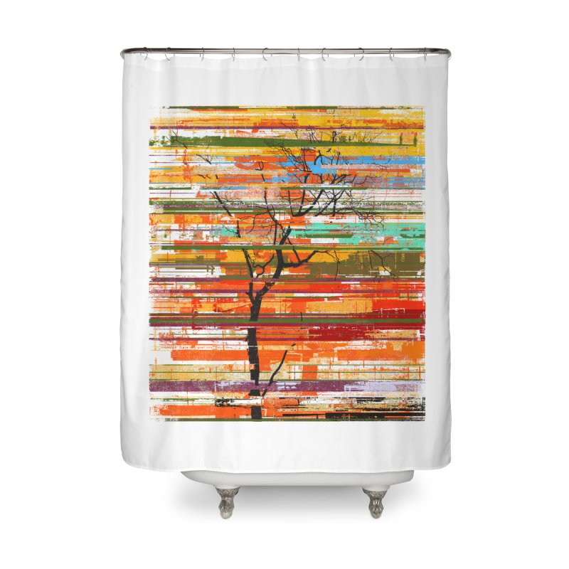 Fusion Autumn Home Shower Curtain by bulo