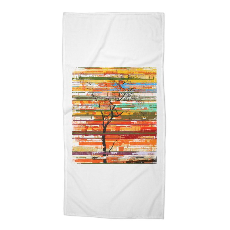Fusion Autumn Accessories Beach Towel by bulo