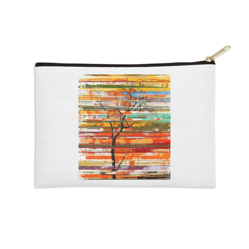 Fusion Autumn Accessories Zip Pouch by bulo