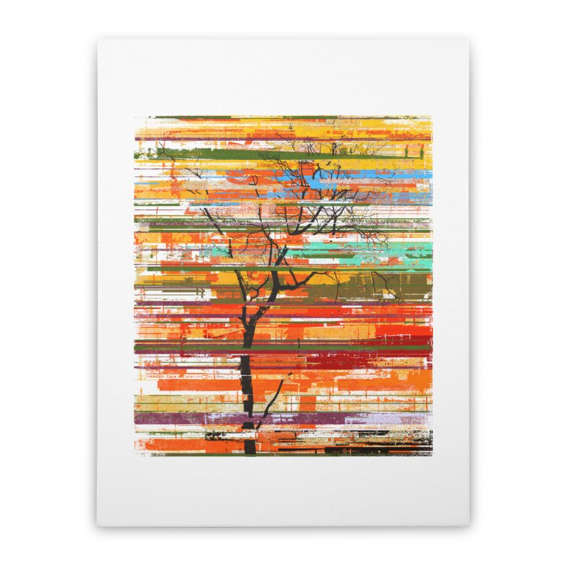 Fusion Autumn Home Stretched Canvas by bulo