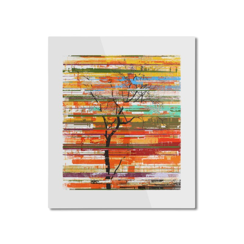 Fusion Autumn Home Mounted Aluminum Print by bulo