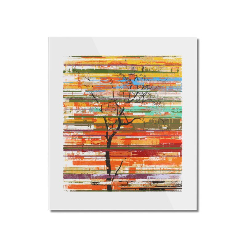 Fusion Autumn Home Mounted Acrylic Print by bulo