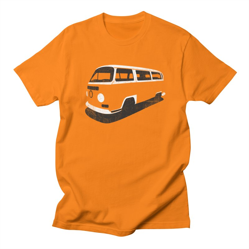 Van (vintage version) in Men's T-shirt Orange by bulo
