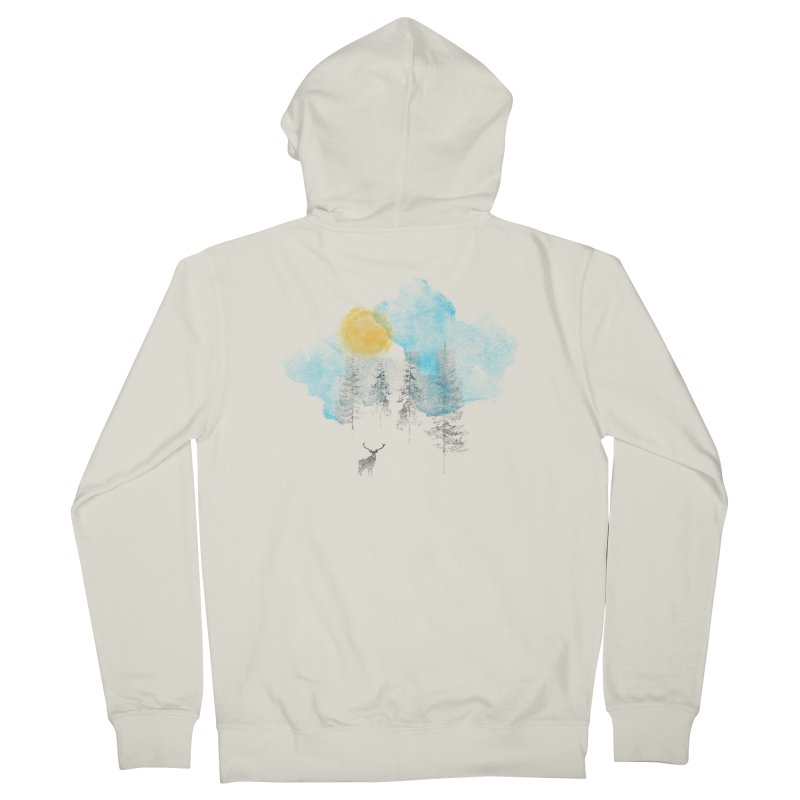 Misty Men's French Terry Zip-Up Hoody by bulo