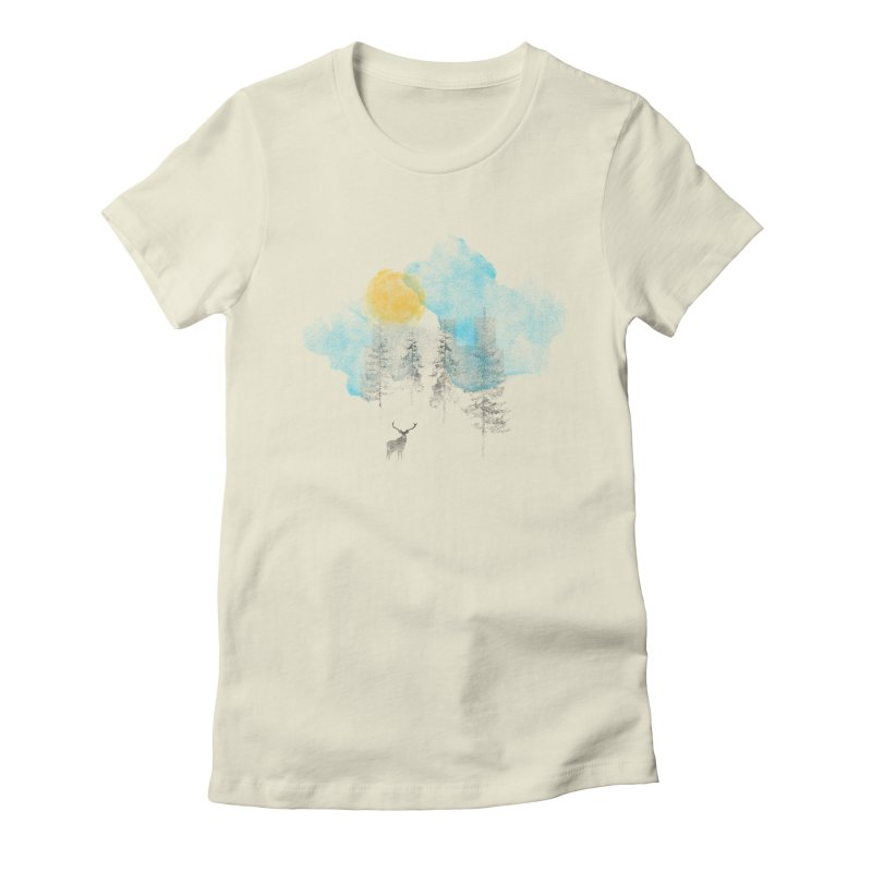 Misty Women's Fitted T-Shirt by bulo