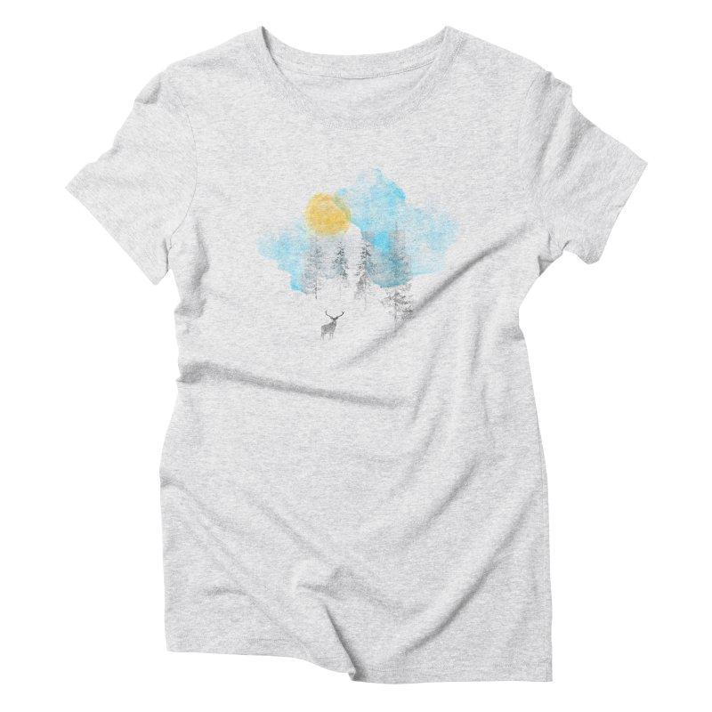 Misty Women's Triblend T-Shirt by bulo