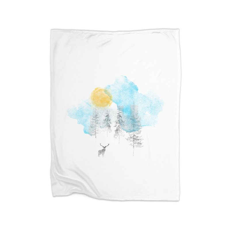 Misty Home Blanket by bulo