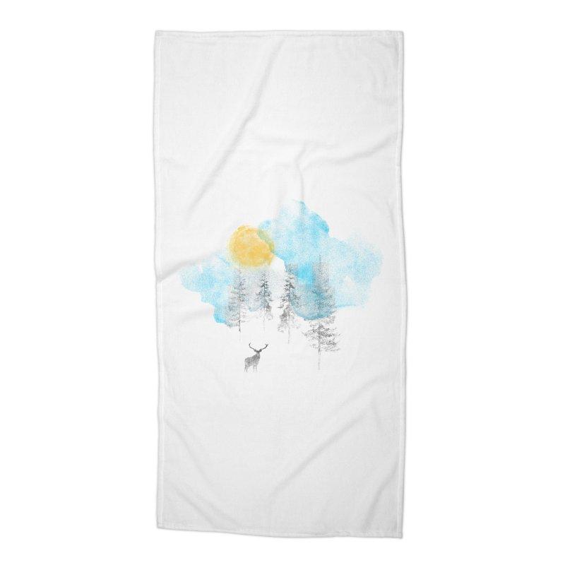 Misty Accessories Beach Towel by bulo