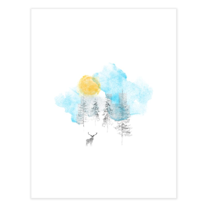 Misty Home Fine Art Print by bulo