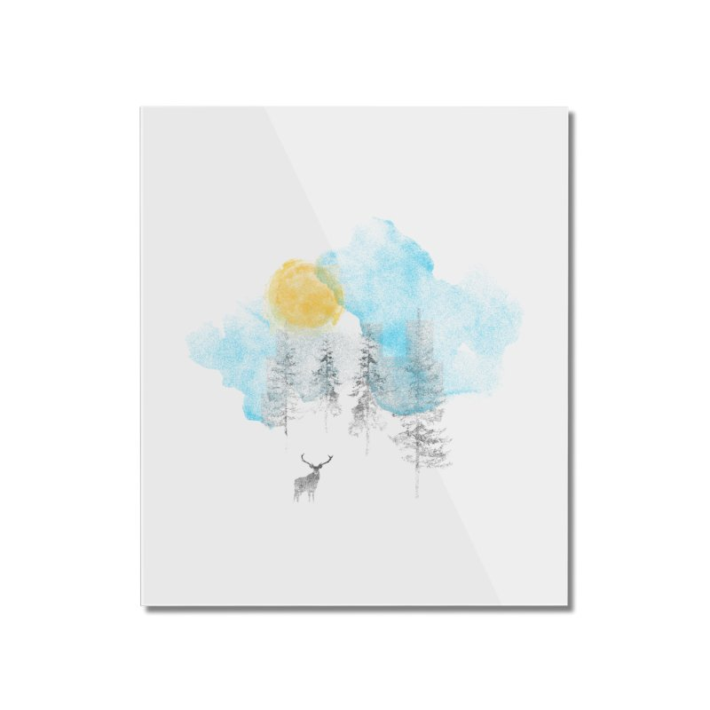 Misty Home Mounted Acrylic Print by bulo