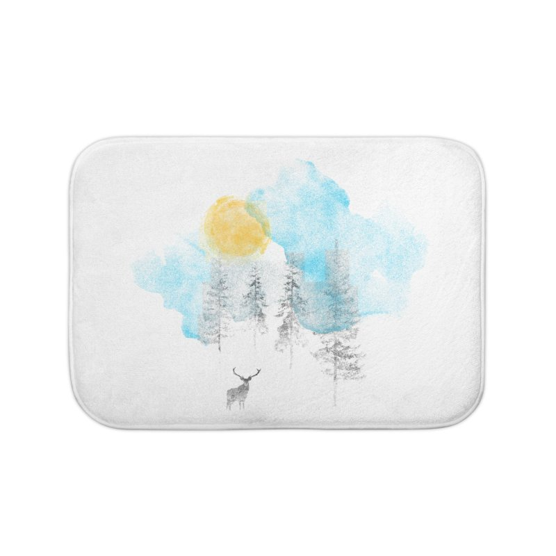 Misty Home Bath Mat by bulo