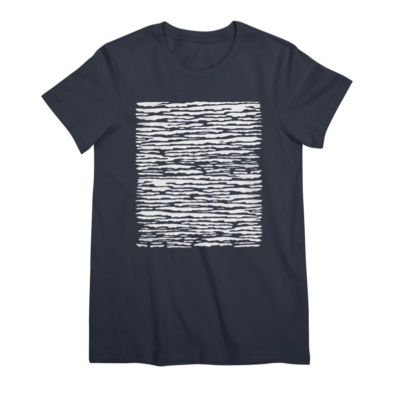 Journey to Summer Women's Premium T-Shirt by bulo