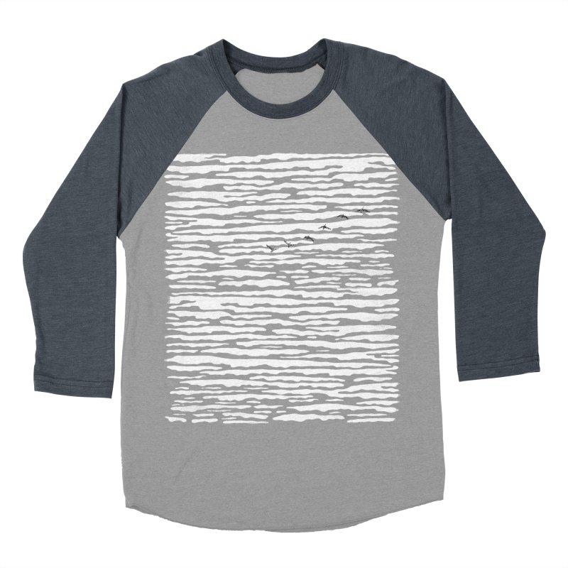 Journey to Summer Men's Baseball Triblend Longsleeve T-Shirt by bulo
