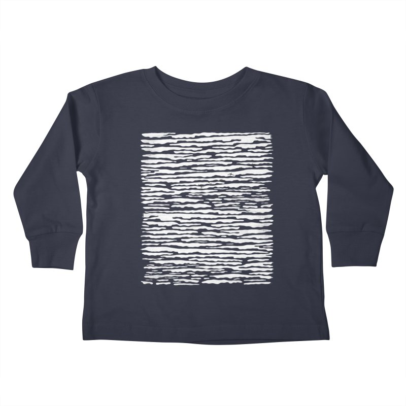 Journey to Summer Kids Toddler Longsleeve T-Shirt by bulo