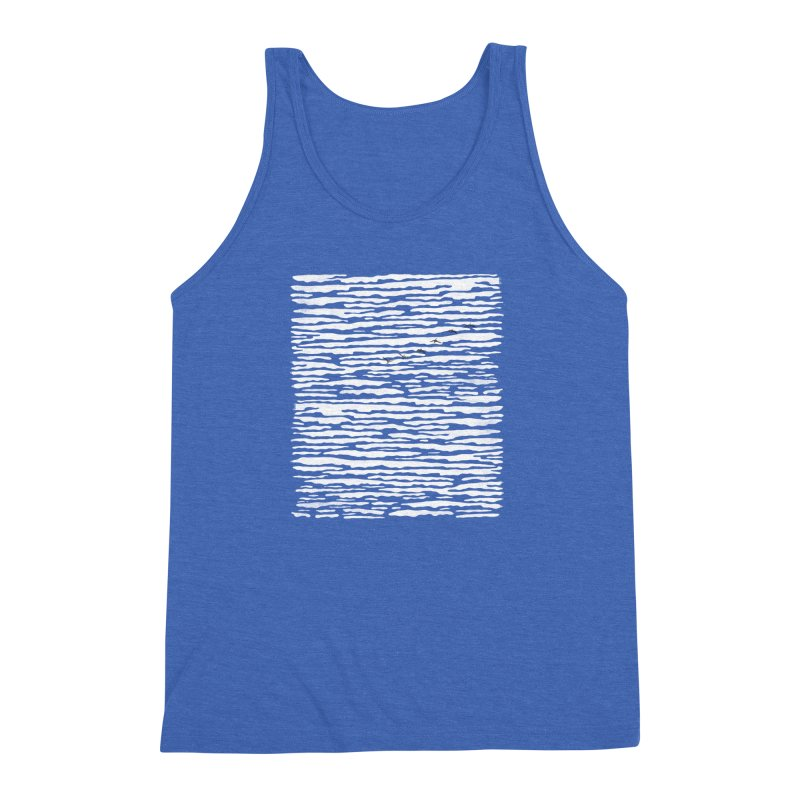 Journey to Summer Men's Triblend Tank by bulo