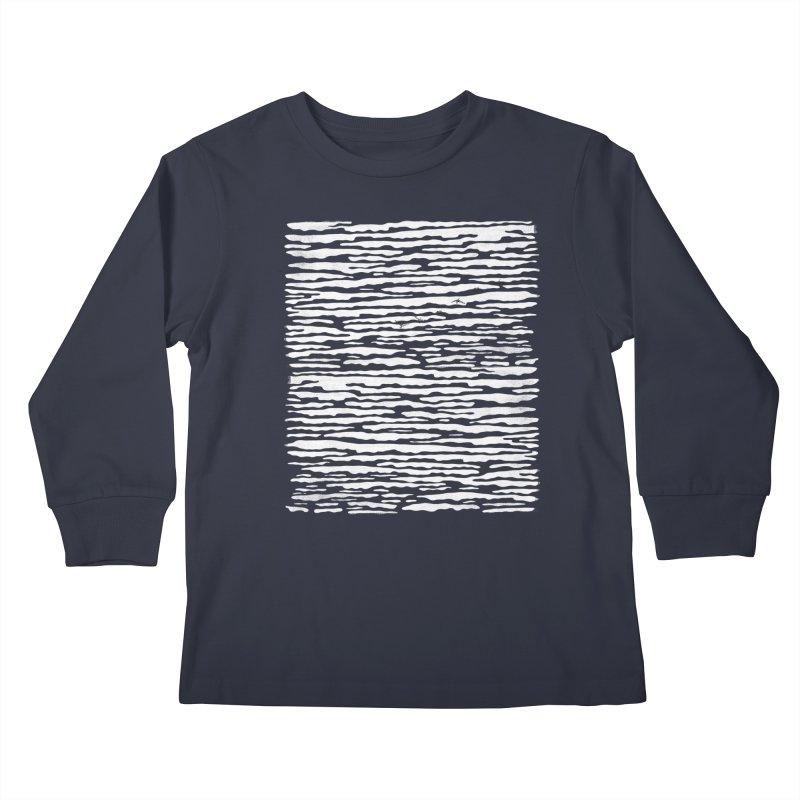Journey to Summer Kids Longsleeve T-Shirt by bulo