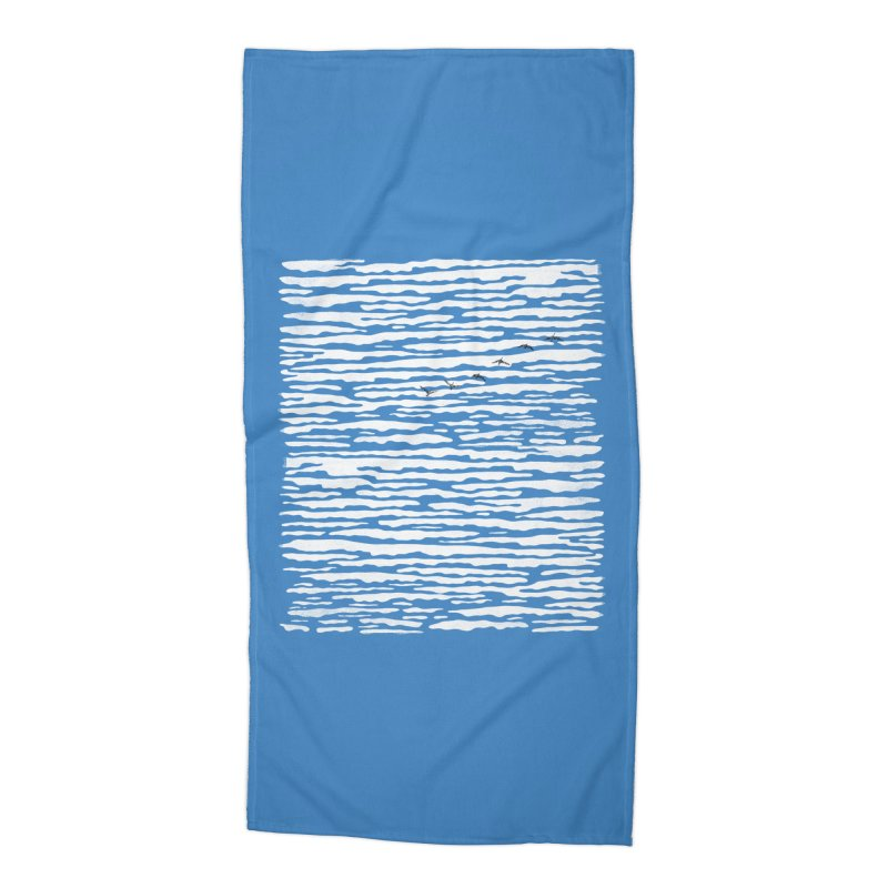 Journey to Summer Accessories Beach Towel by bulo