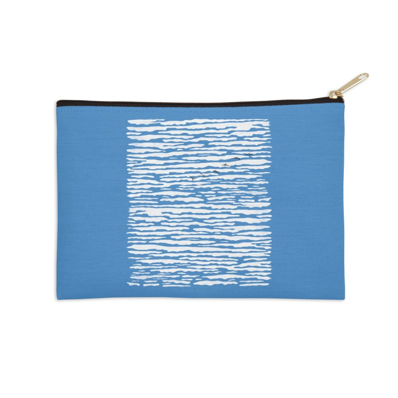 Journey to Summer Accessories Zip Pouch by bulo