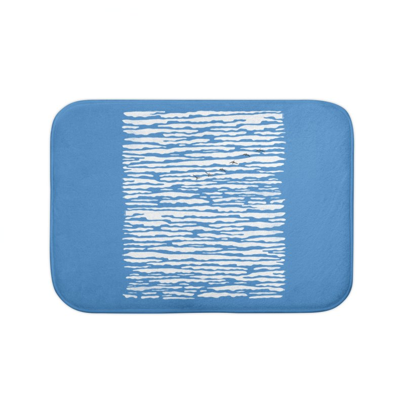 Journey to Summer Home Bath Mat by bulo
