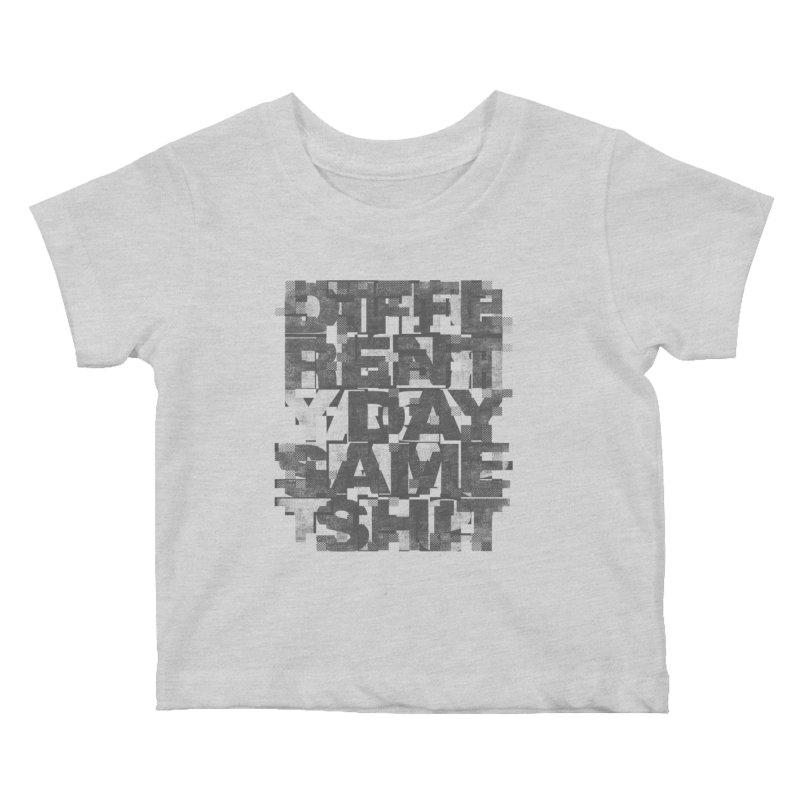 Same Shit Kids Baby T-Shirt by bulo