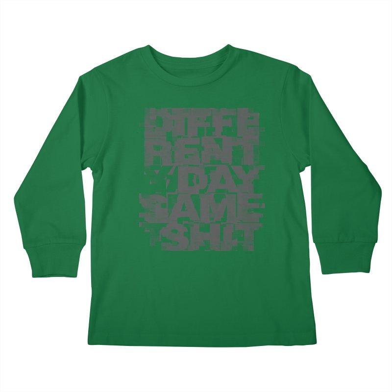 Same Shit Kids Longsleeve T-Shirt by bulo
