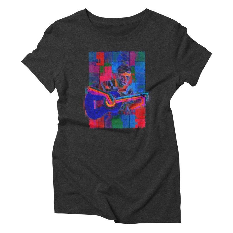 Tropicalismo Women's Triblend T-Shirt by bulo