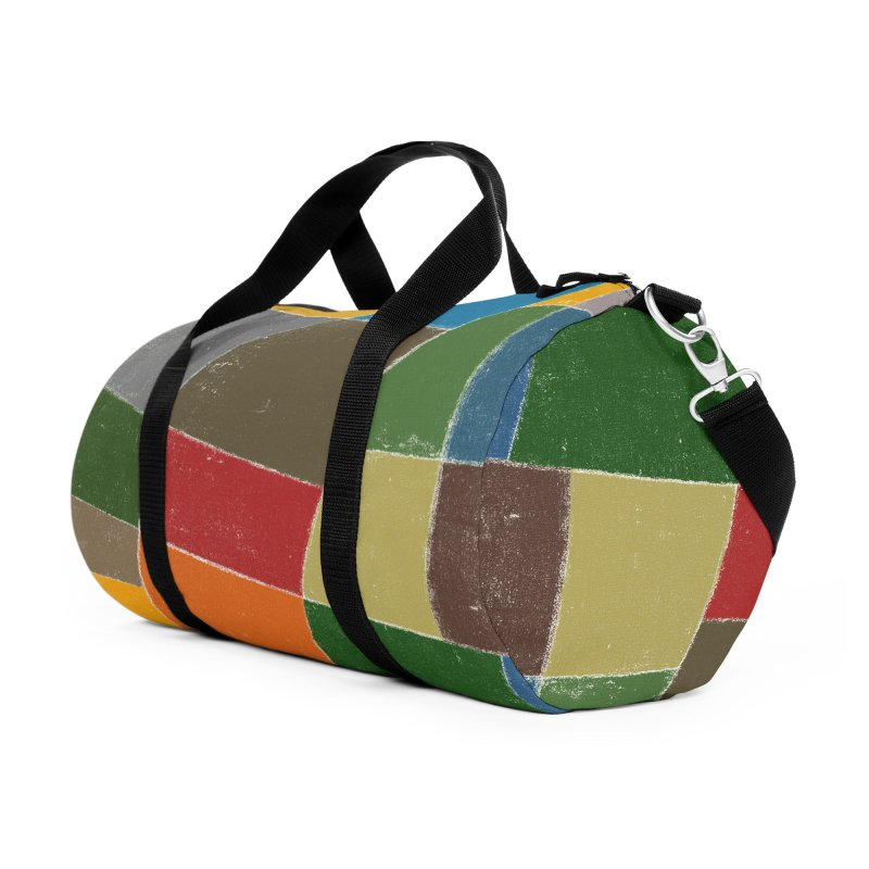Flower Fields Accessories Duffel Bag Bag by bulo