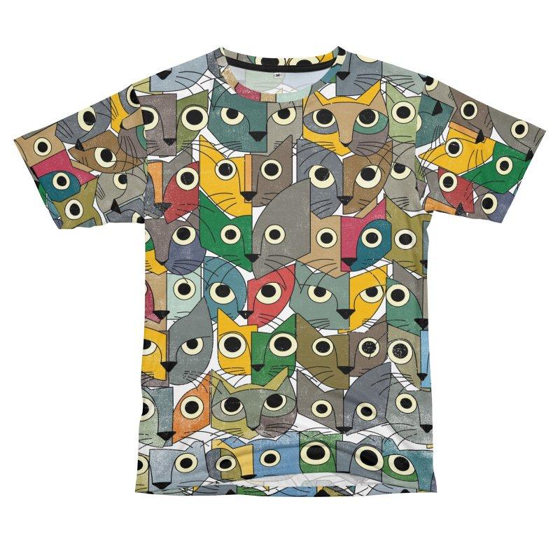 Katzen Women's Unisex T-Shirt Cut & Sew by bulo