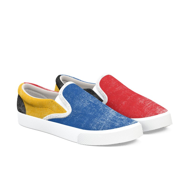 Synesthesia in Men's Slip-On Shoes by bulo