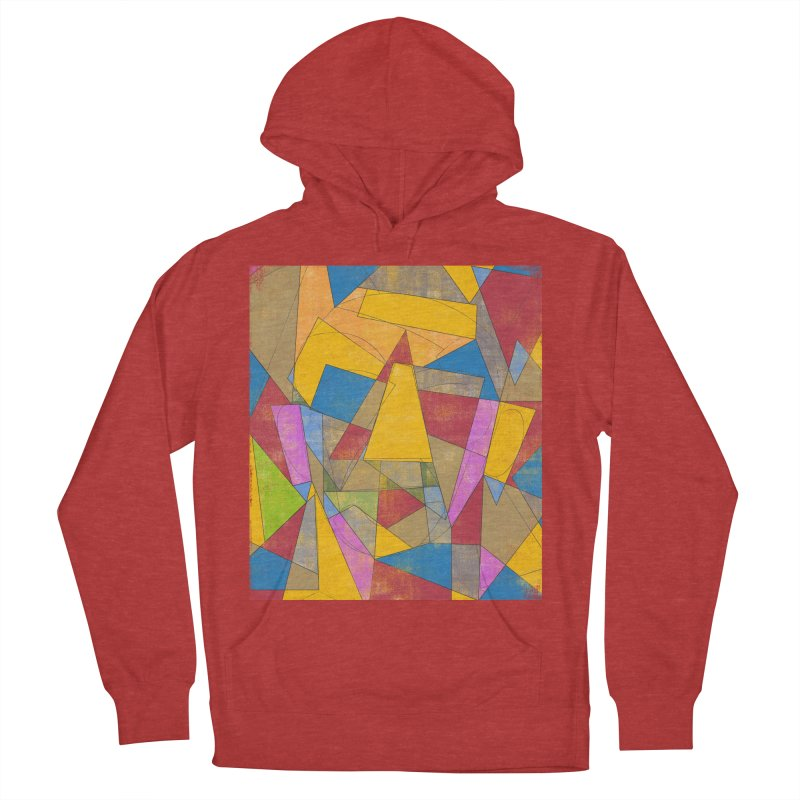 Picasso's face Men's French Terry Pullover Hoody by bulo
