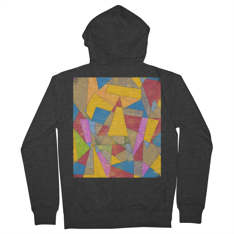 Picasso's face Women's French Terry Zip-Up Hoody by bulo