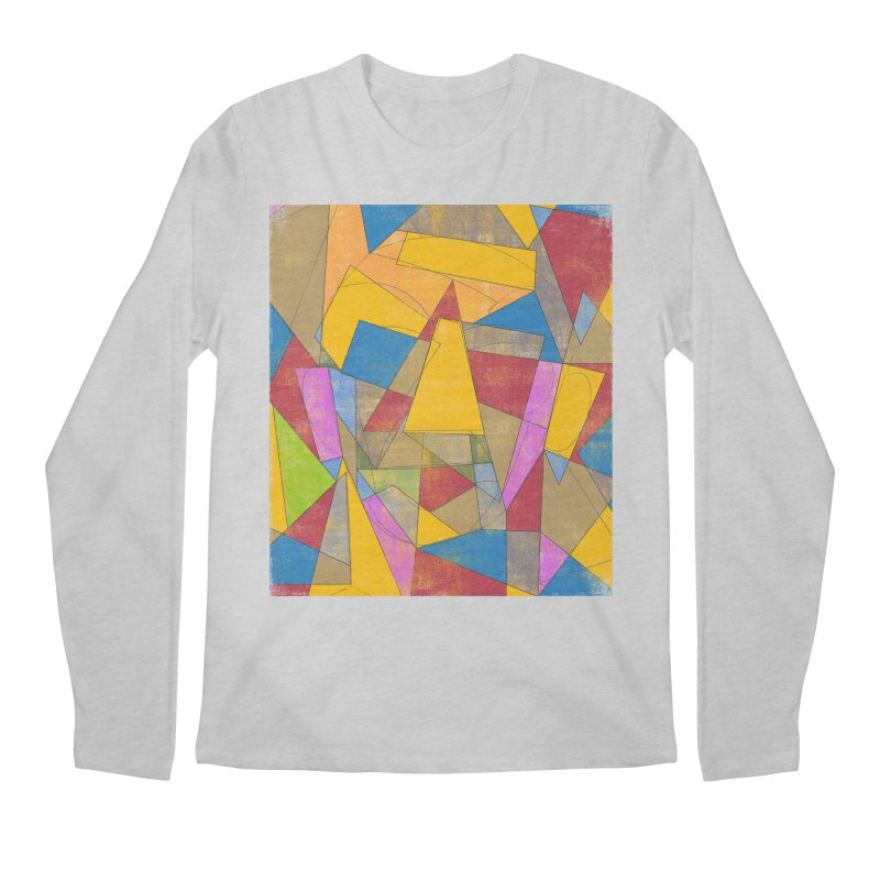 Picasso's face Men's Regular Longsleeve T-Shirt by bulo