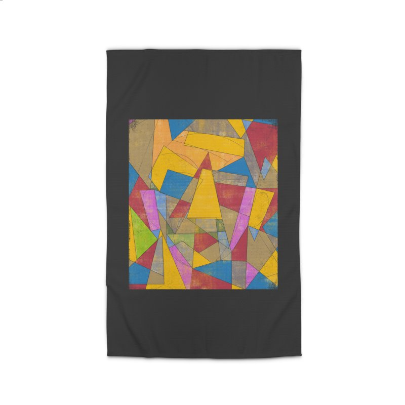 Picasso's face Home Rug by bulo