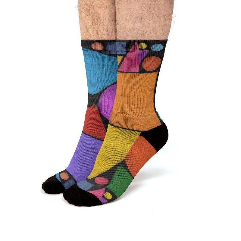 Synesthetische Komposition Men's Socks by bulo