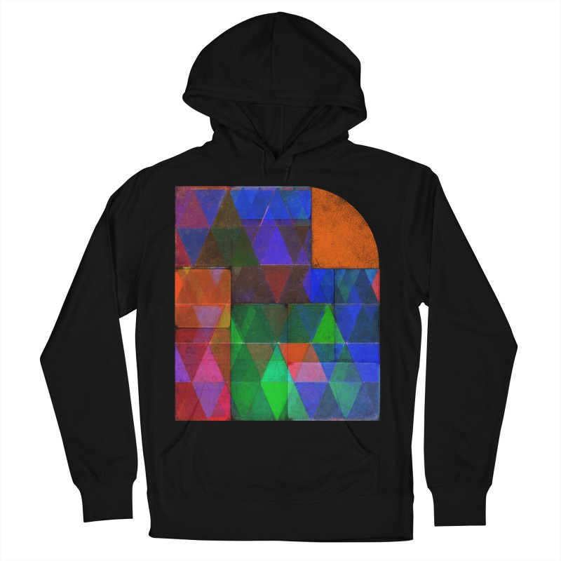 Sunrise Bauhaus Men's French Terry Pullover Hoody by bulo