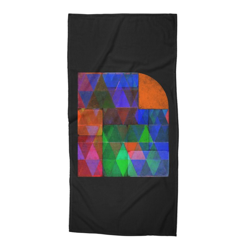 Sunrise Bauhaus Accessories Beach Towel by bulo