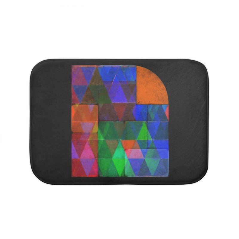 Sunrise Bauhaus Home Bath Mat by bulo