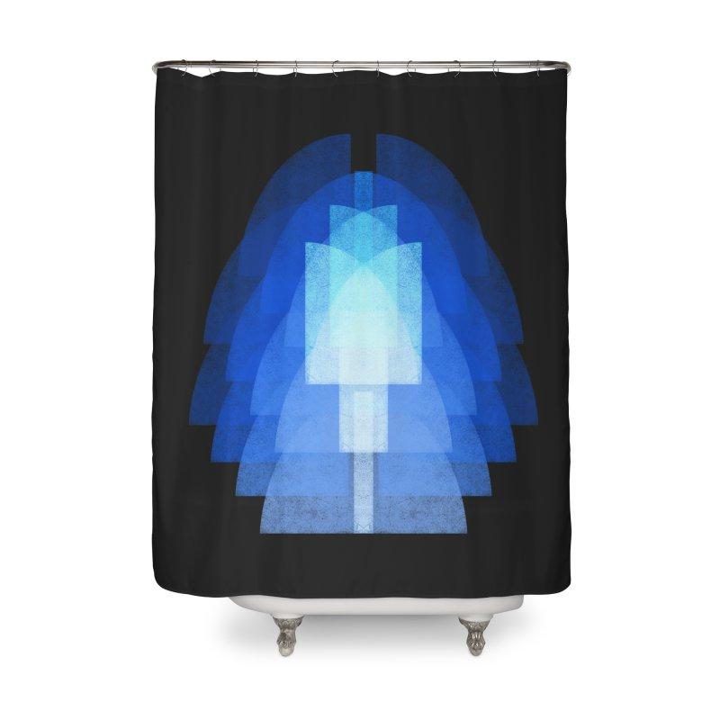 Bauhausstil: der Engel Home Shower Curtain by bulo