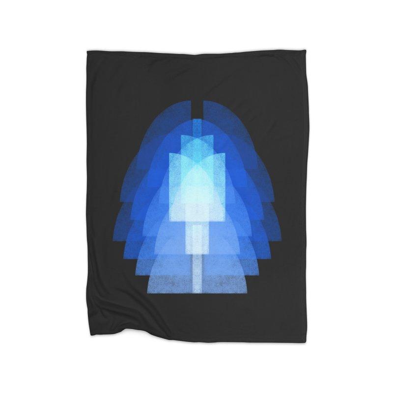Bauhausstil: der Engel Home Fleece Blanket Blanket by bulo