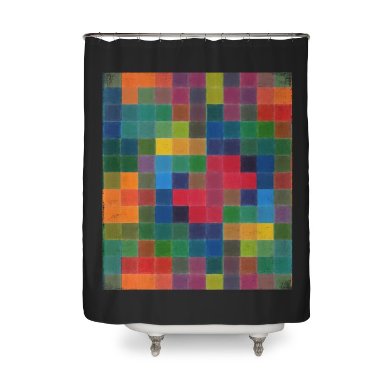 Synästhesie Home Shower Curtain by bulo