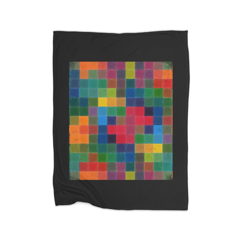 Synästhesie Home Fleece Blanket Blanket by bulo
