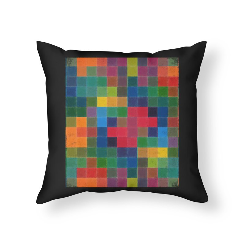 Synästhesie Home Throw Pillow by bulo
