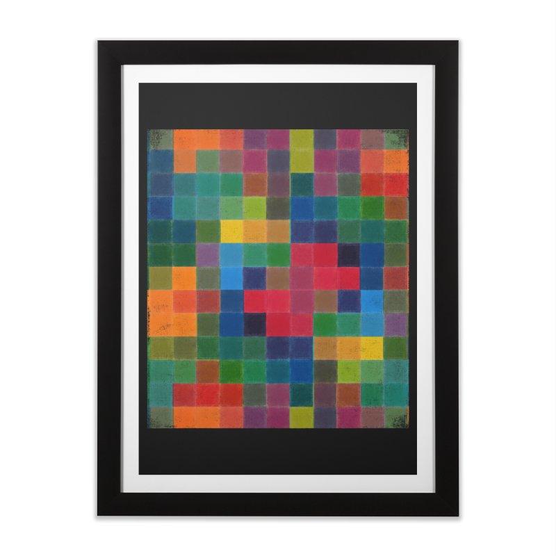 Synästhesie Home Framed Fine Art Print by bulo